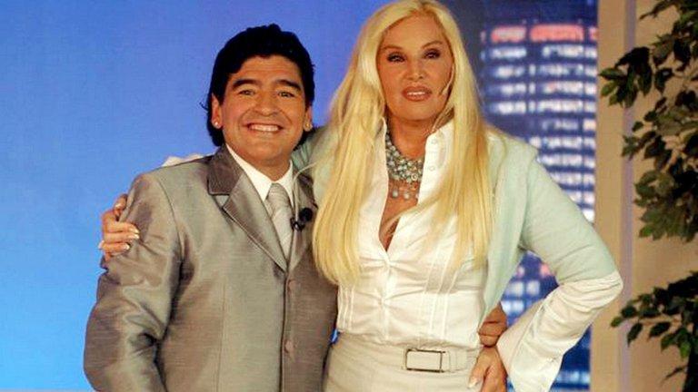 Susana Gimenez Has Sent A Message Of Encouragement To Diego Maradona